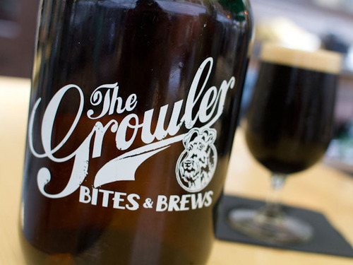 Growler Bites and Brews Growler