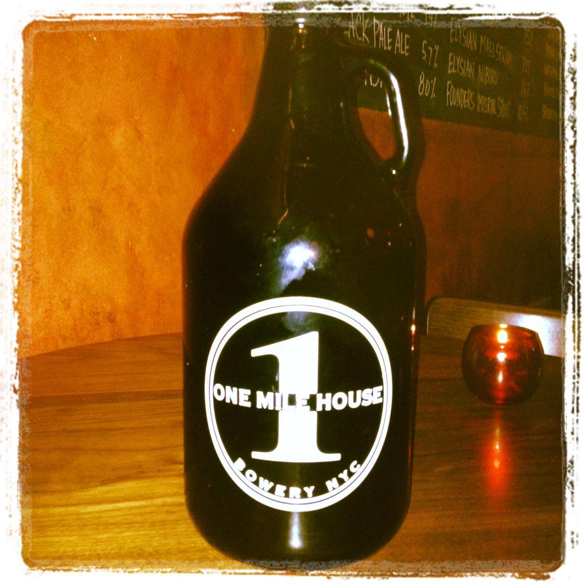 One Mile House Growler