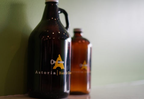 Astoria Bier & Cheese Growlers