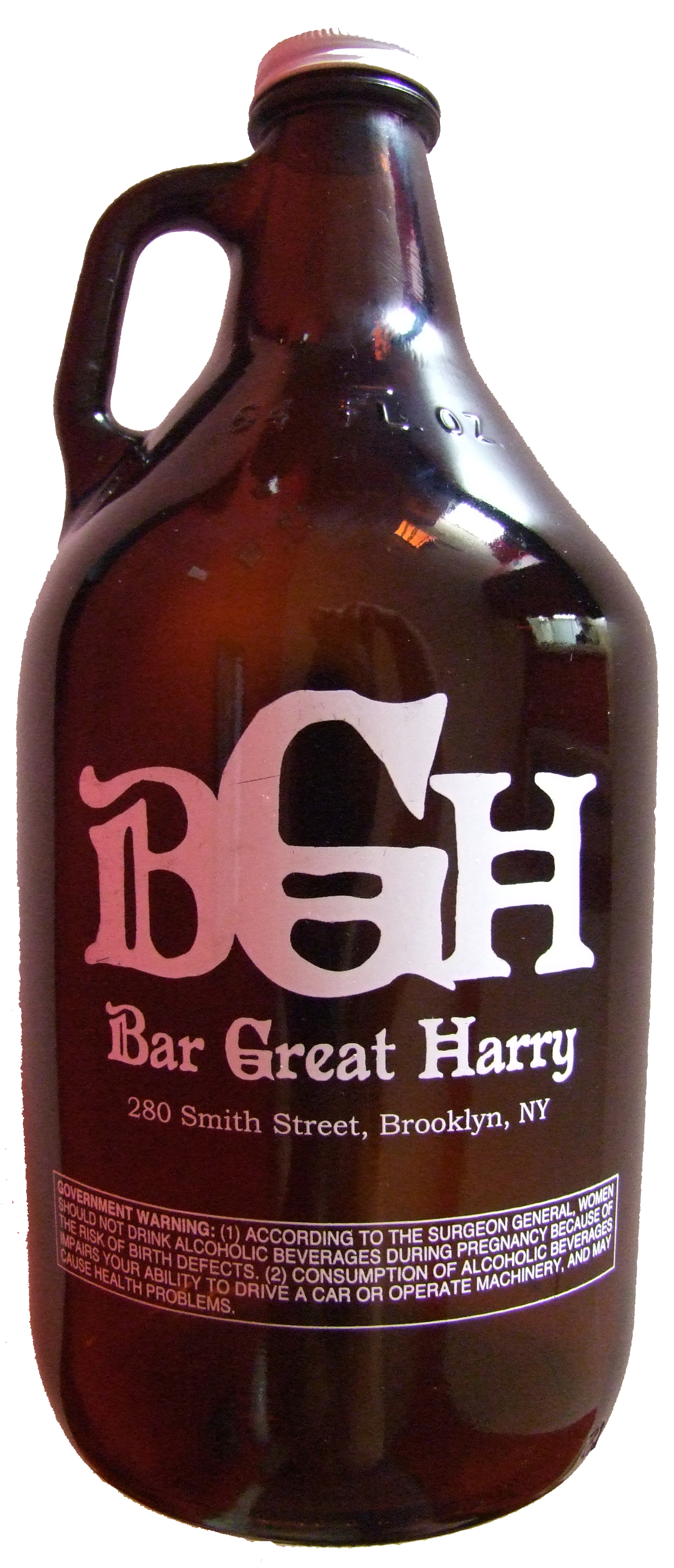 Bar Great Harry Growler