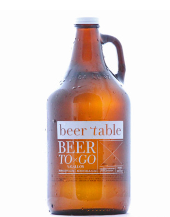 Beer Table Growler Artwork