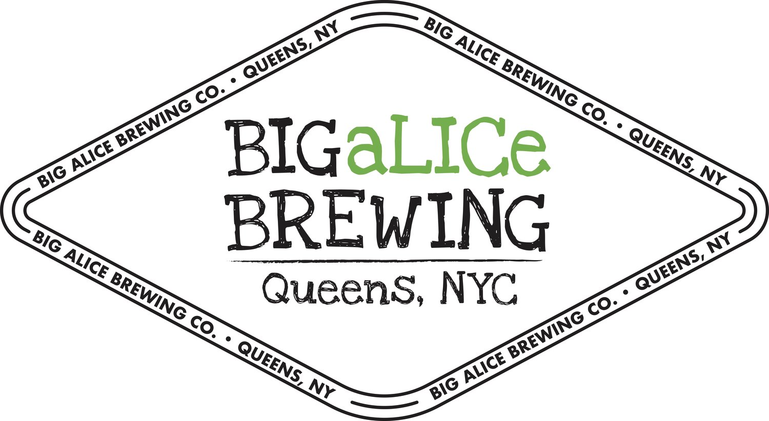 Big aLICe Brewing Logo