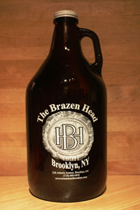 Brazen Head Growler