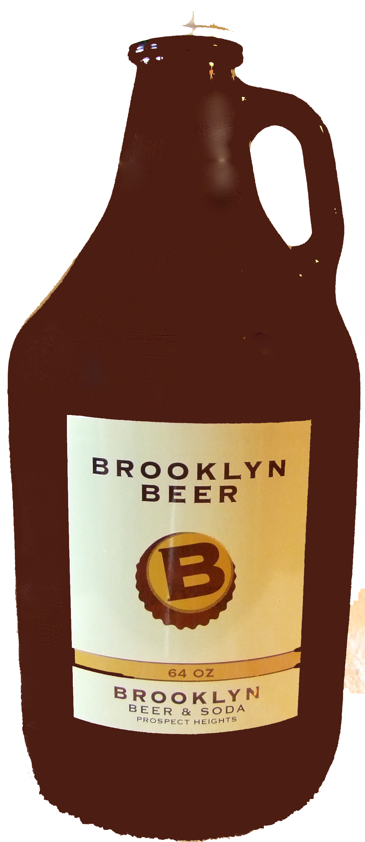 Brooklyn Beer And Soda Growler