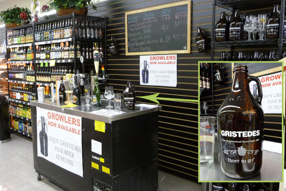 Gristedes Growler Bar