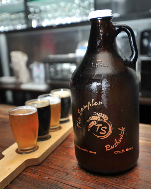 The Sampler Bushwick Growler